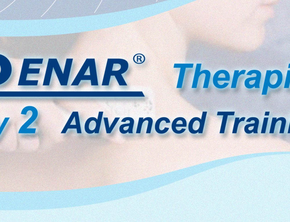 Become a trained ENAR Therapist – Your never too old  says Ivan